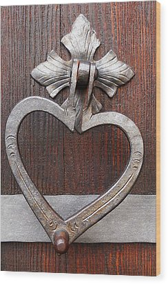 Wood Print featuring the photograph Shape Of My Heart by Juergen Weiss