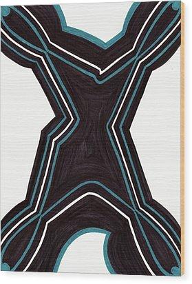 Shapely Wood Print