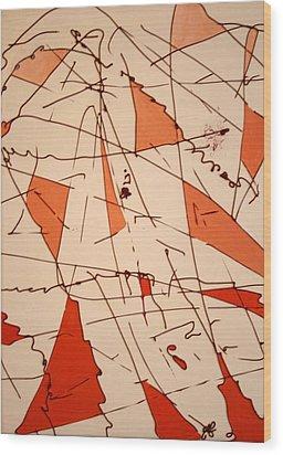 Shards - Windblown Wood Print by Jess Fuller