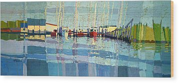 Shark River Inlet Wood Print by Donald Maier