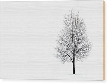 Wood Print featuring the photograph She Said She'd Come by Yvette Van Teeffelen