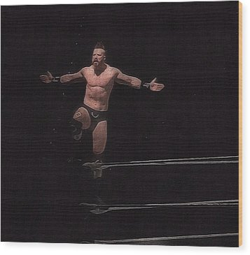Sheamus Wood Print