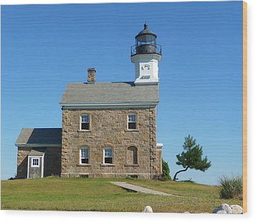 Sheffield Lighthouse Wood Print by Margie Avellino