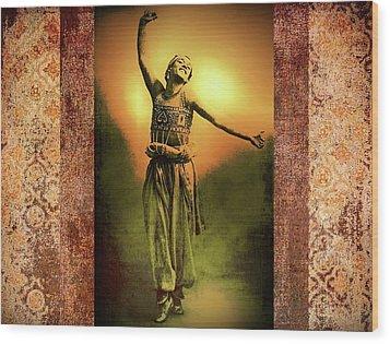 Sheherazade Wood Print