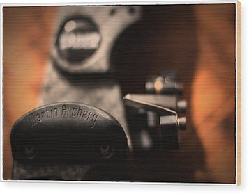Wood Print featuring the photograph Shelf Rest by Tim Nichols