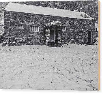 Wood Print featuring the photograph Shepherds Cottage by Keith Elliott