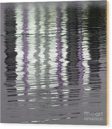 Wood Print featuring the photograph Shimmer by Wendy Wilton