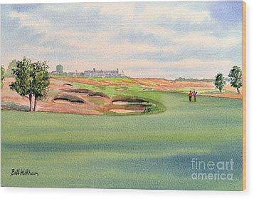 Shinnecock Hills Golf Course Wood Print by Bill Holkham