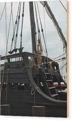 Ship 10 Wood Print by Joyce StJames