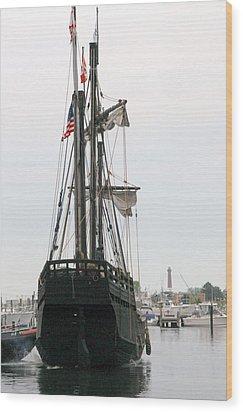 Ship 12 Wood Print by Joyce StJames