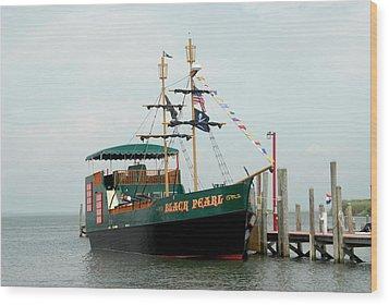 Ship 16 Wood Print by Joyce StJames