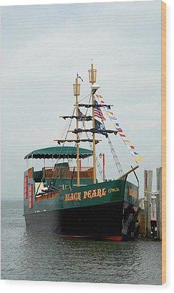Ship 17 Wood Print by Joyce StJames
