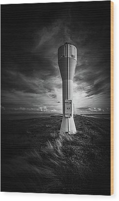 Shipping Light Wood Print