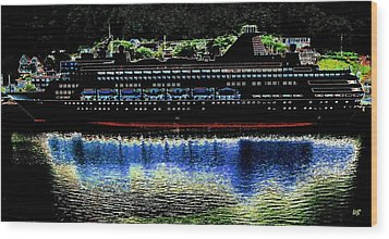 Shipshape 8 Wood Print by Will Borden