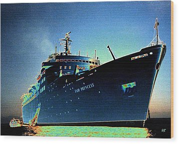 Shipshape 9 Wood Print by Will Borden