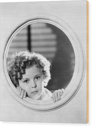 Shirley Temple (1928-2014) Wood Print by Granger