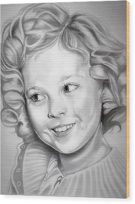 Shirley Temple Wood Print