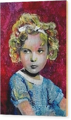 Shirley Temple Wood Print