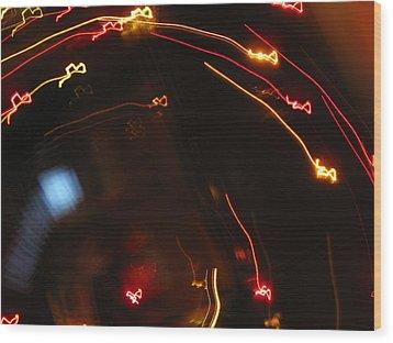 Wood Print featuring the photograph Shooting Hearts by Ausra Huntington nee Paulauskaite