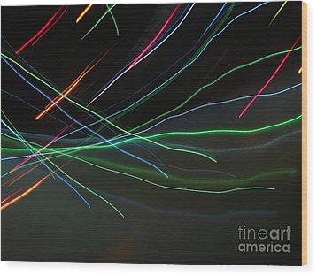 Wood Print featuring the photograph Shooting Stars by Ausra Huntington nee Paulauskaite
