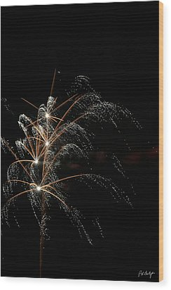 Shooting Stars Wood Print by Phill Doherty