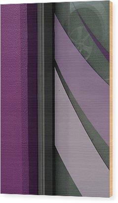 Shopfront Abstract Wood Print