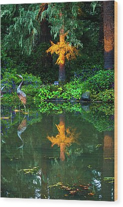 Wood Print featuring the photograph Shore Acres Beauty by Dale Stillman