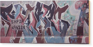 Shpx Wood Print by Jame Hayes