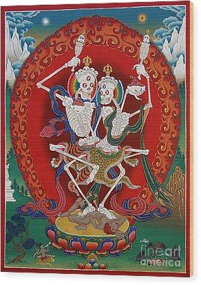 Shri Chittipati - Chokling Tersar Wood Print