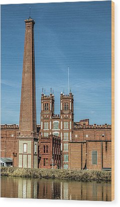 Sibley Mill II Wood Print