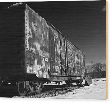Wood Print featuring the photograph Sidelined by Alan Raasch