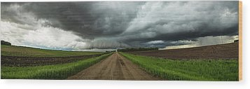 Wood Print featuring the photograph Sidewinder by Aaron J Groen