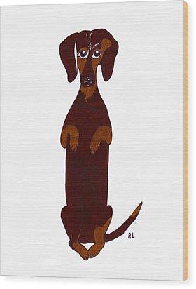 Sidney Wood Print by Rachel Lowry