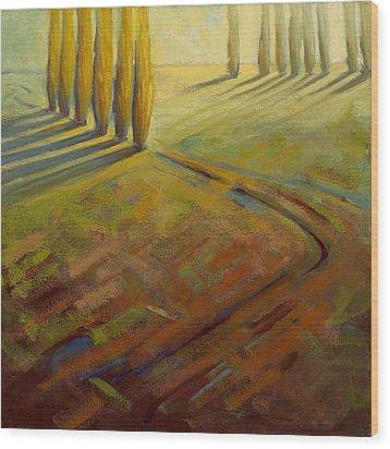 Sienna Wood Print