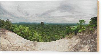 Sigiriya Panorama Wood Print by Venura Herath