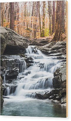 Autumn At Moss Rock Preserve Wood Print