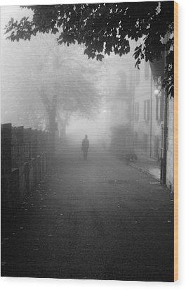 Silent Hill Wood Print by Andrea Mazzocchetti