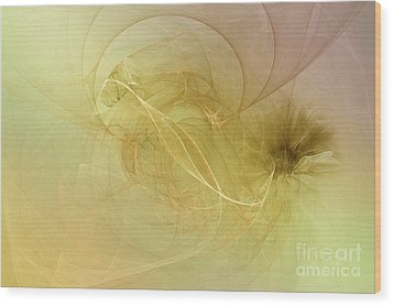 Wood Print featuring the photograph Silk Dream by Elaine Manley