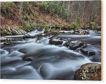 Wood Print featuring the photograph Silky Smooth by Douglas Stucky