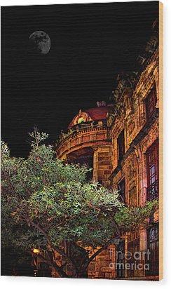 Silly Hall, Cuenca, Ecuador II Wood Print by Al Bourassa