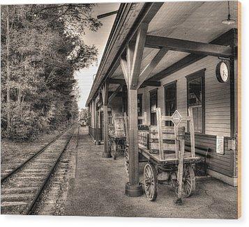 Silver Lake Rail Road 253 Wood Print