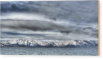Silver Lake Tahoe Wood Print by Brad Scott