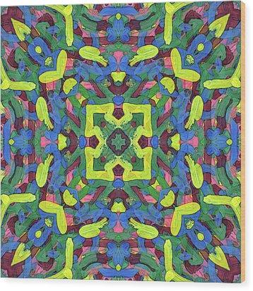 Silver Soup -pattern- Wood Print