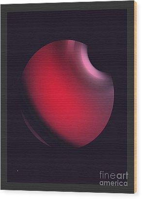 Wood Print featuring the digital art Simplicity 12-2 by John Krakora