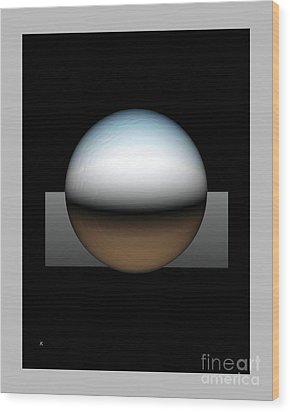 Simplicity 25 Wood Print by John Krakora