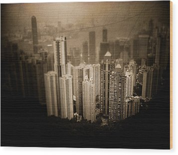 Sin City Wood Print by Loriental Photography
