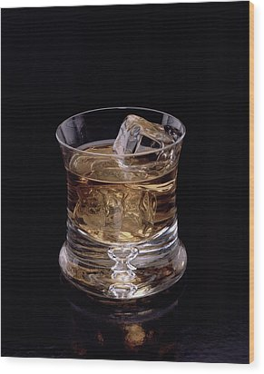 Single Malt Wood Print by Steven Huszar