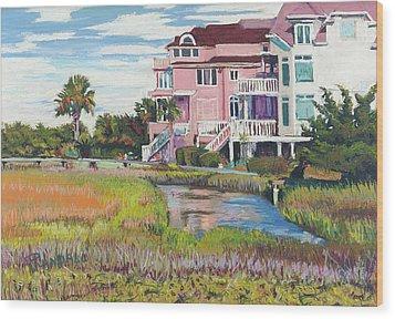 Singleton Beach Wood Print