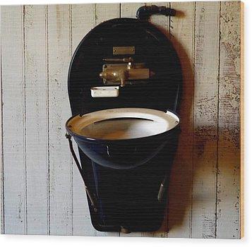 Sink Wood Print