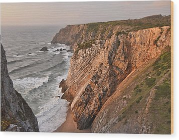 Wood Print featuring the photograph Sintra Portugal Coast by Marek Stepan